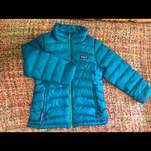 Patagonia Down Puffer Jacket Size 7-8